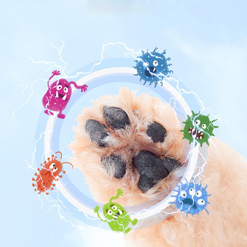 Dog Paw Cleaner Cup Soft Silicone