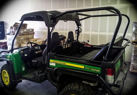 John Deere Gator 825I Backseat and Roll Cage Kit