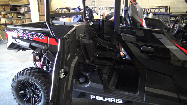 General 4 1000 Rear Bench Seat Utv Accessories