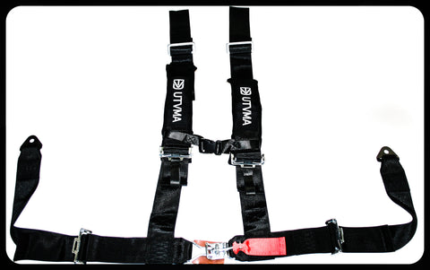 3-inch 4-point Harness with Off Road Buckle
