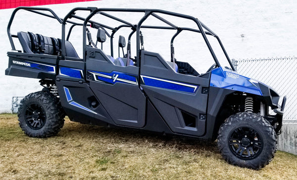Textron Stampede 4 Back Seat and Roll Cage Kit