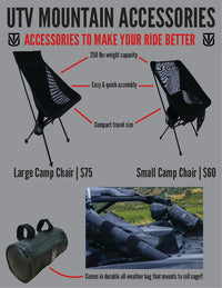 Camp Chair with Roll Cage Bag