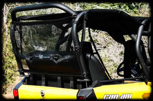Commander Rear Dust Net Utv Accessories
