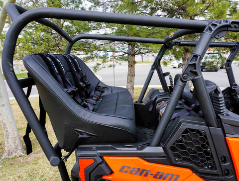 Maverick Sport Max Rear Bench and Roll Cage Kit