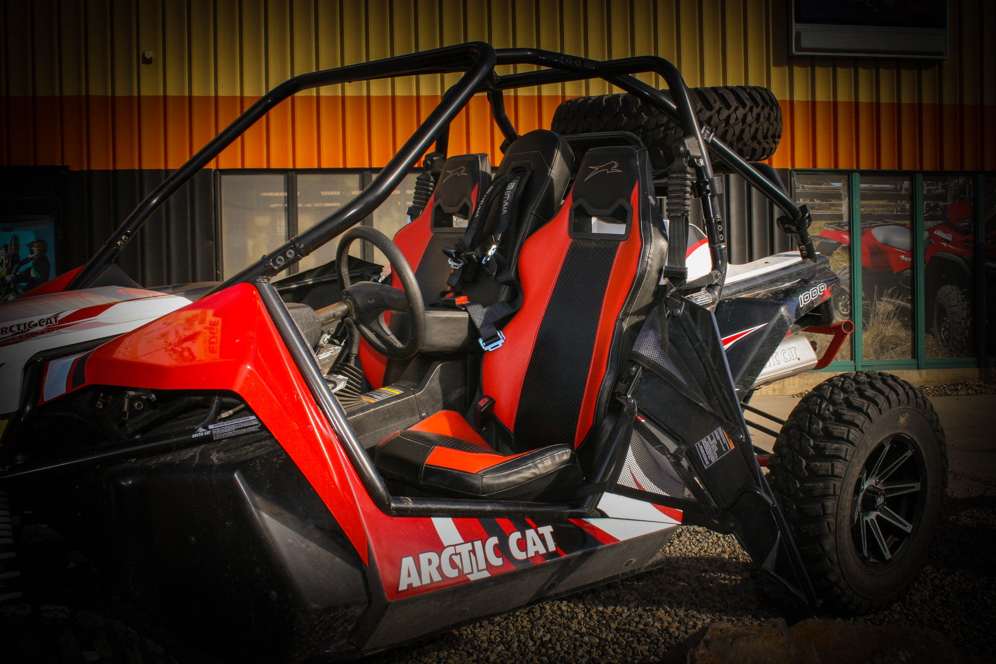 Groovy Wildcat 1000 Bump Seat Utv Accessories Caraccident5 Cool Chair Designs And Ideas Caraccident5Info