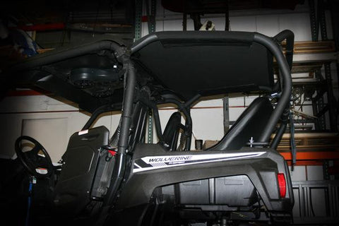 Yamaha Wolverine Backseat and Roll Cage with Rear Soft Top Kit