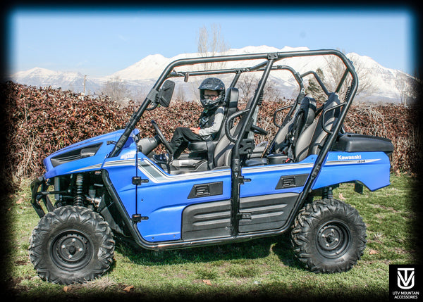 Teryx 4 Front and Rear Bump Seat
