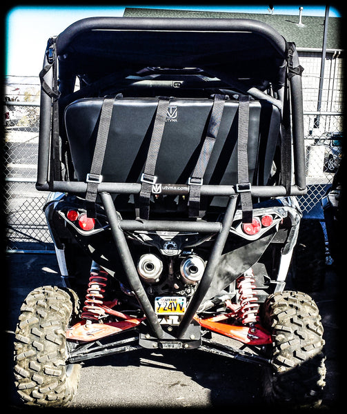 Maverick Max Backseat and Roll Cage Kits