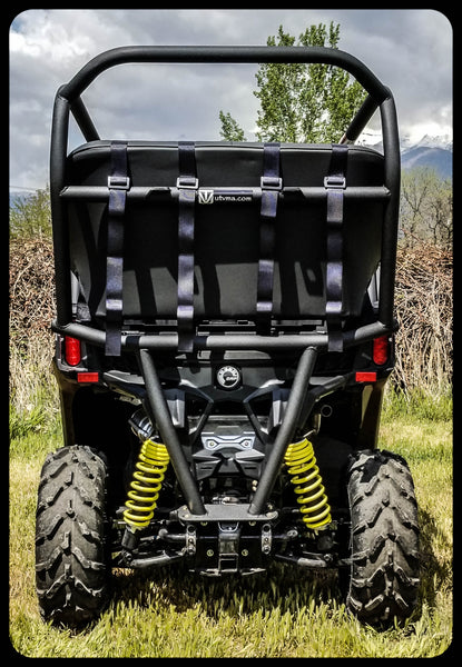 Defender Roll Cage Kit >> Maverick Trail Back seat and Roll Cage kits | UTV Accessories