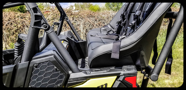 Maverick Trail Back seat and Roll Cage kits