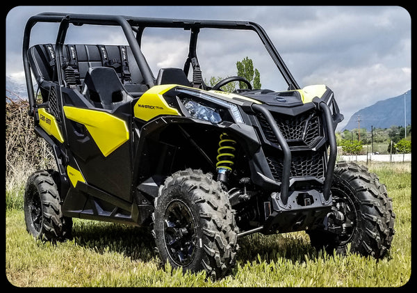 Maverick Trail Back seat and Roll Cage kits | UTV Accessories