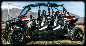 RZR 4 1000 2014-2019 Set of Bump Seats