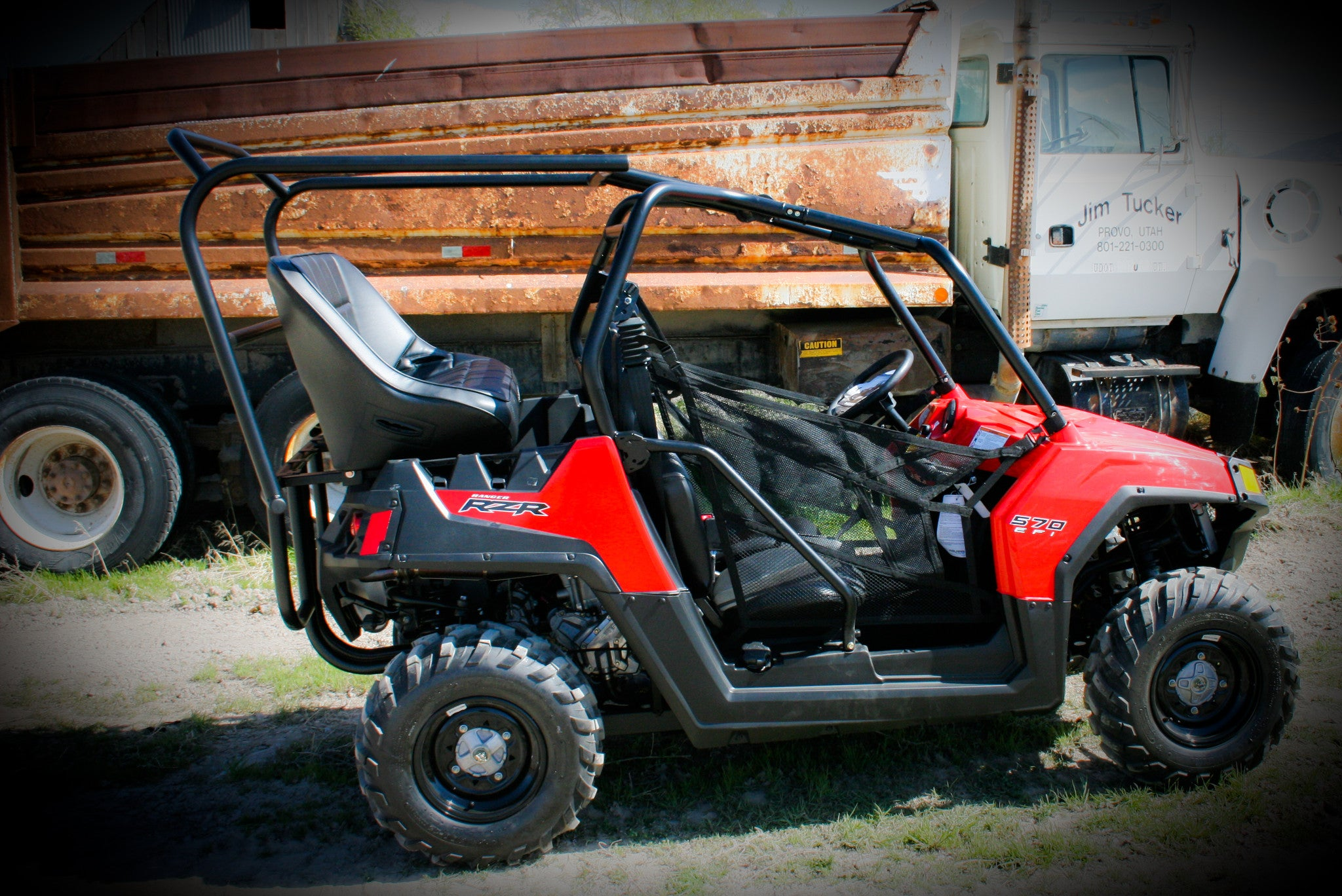 Rzr 570 Backseat And Roll Cage Kits Utv Accessories