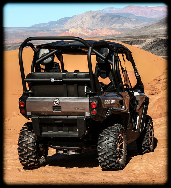 Commander Back Seat And Roll Cage Kits Utv Accessories