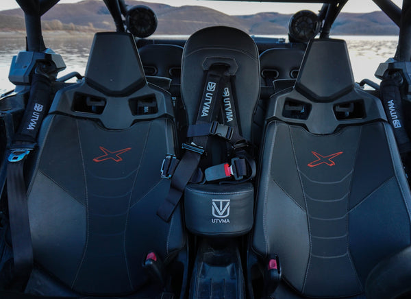 Maverick X3/X3 MAX Bump Seat (Front & Rear) 2017-2020 (Back Order Until June 21st)