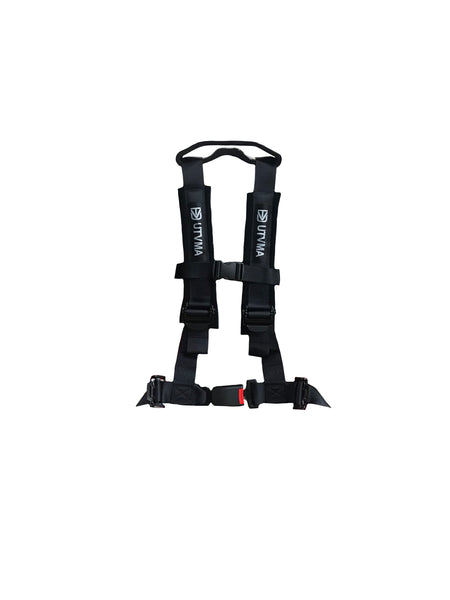 4-Point Harness Seat Pass Through Kit with Override Clip