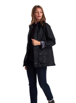 Barbour Beadnell Black