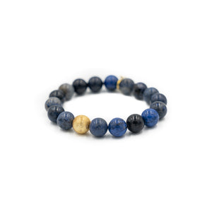 Brooke Bracelet, BLUE DUMORTIERITE