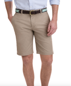 "9"" STRETCH BREAKER SHORT KHAKI"