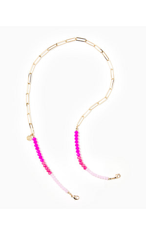FACE MASK CHAIN - PINK