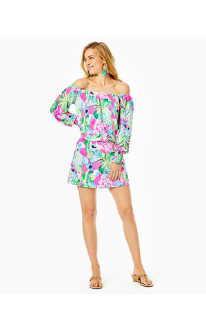 LANA SKORT ROMPER - MULTI - RAISE THE BAR