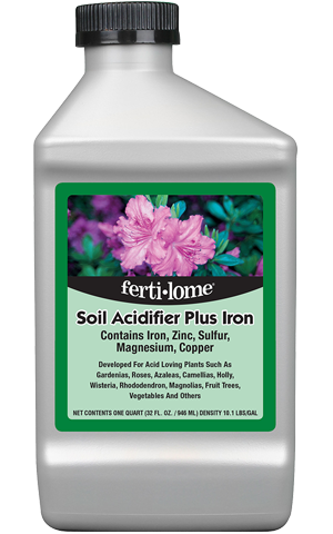 SOIL ACIDIFIER + IRON 32 FL OZ