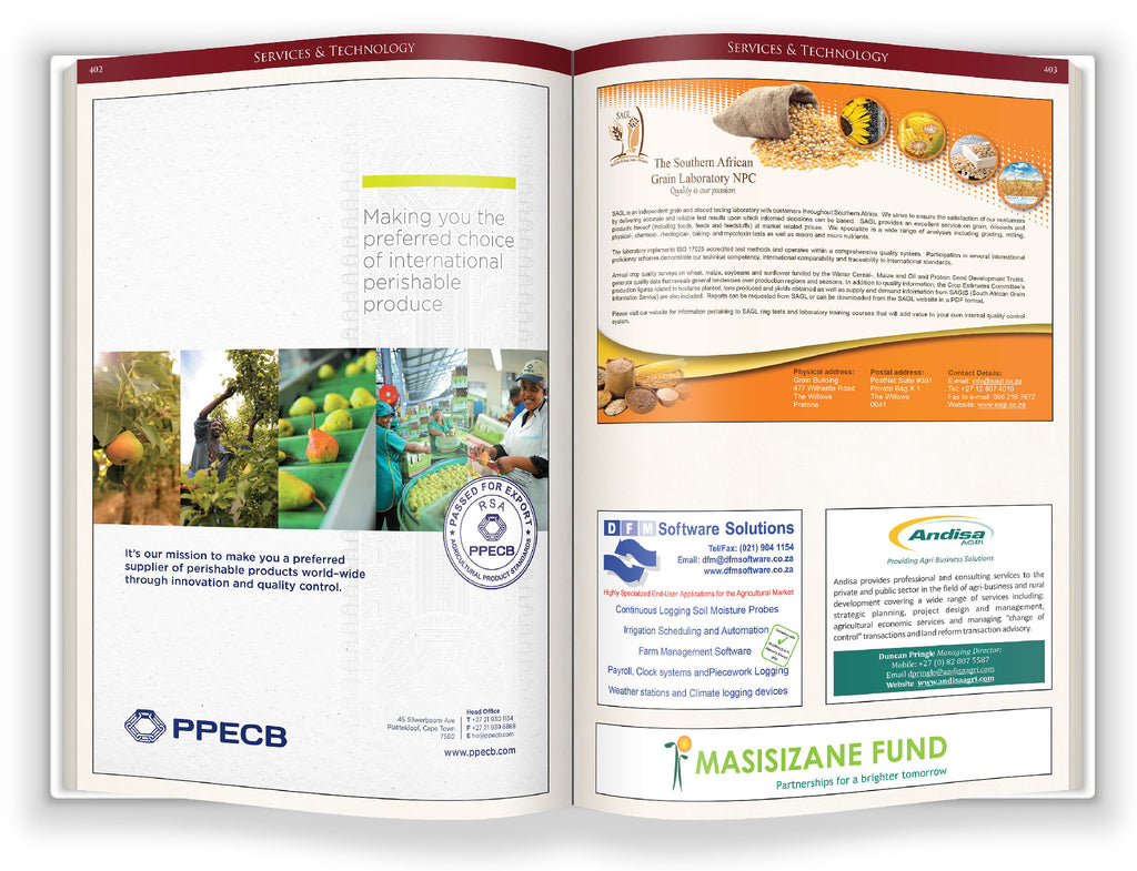 The Agri Handbook 6th Edition Supplier Directory – RainbowSA