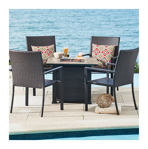 Four Seasons Courtyard Pasadena Fire Pit Set, 5 piece