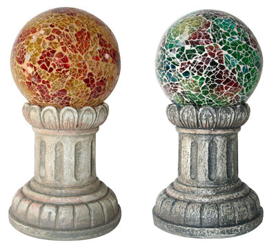 Solar Glass Mosaic Ball