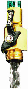 "3/4"" HD Brass Shut Off Valve"