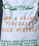 Grass Seed, Crossmans Town & Country, 25 lb
