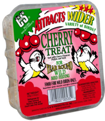 Cherry Treat Suet Bird Feed