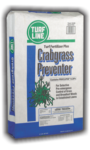 TurfLine Crabgrass Preventer &Fertilizer, 5,000 sqft