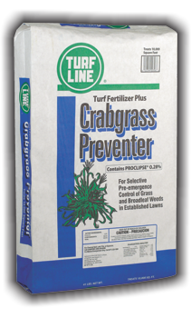 TurfLine Crabgrass Preventer & Fertilizer, 10,000 sq.ft.