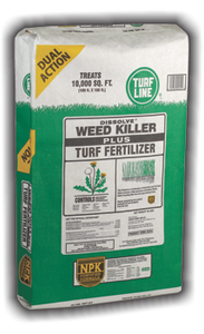 TurfLine Weed Killer & Fertilizer, 5,000 sqft
