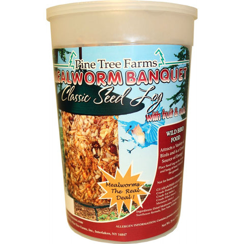 Pine Tree Farms 72oz Mealworm Banquet