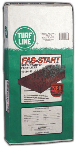 TurfLine Fas-Start Seed Starter Fertilizer, 5000 sqft