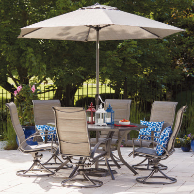 Dining Set, 7 Piece Stonington Four Seasons Courtyard