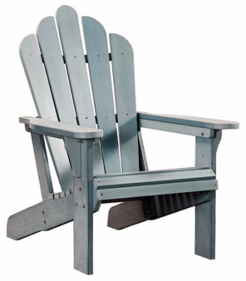 Adirondack Chair, Beach Blue All Weather Poly
