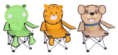 Children's Folding Quad Chair, Assorted Styles Available
