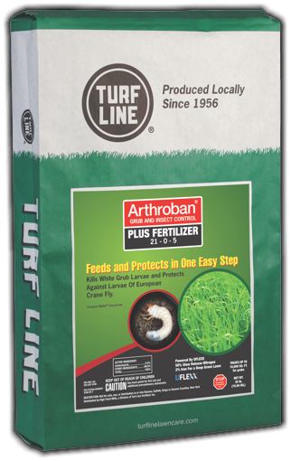 TurfLine Arthroban Grub and Insect Control & Fertilizer, 5,000 sqft.
