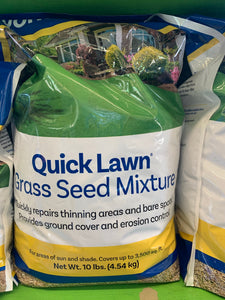 Quick Lawn Grass Seed Mix, 10 lbs
