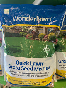 Quick Lawn Grass Seed Mix, 3 lbs