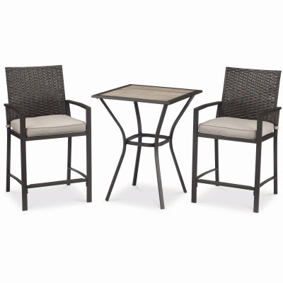 Kerala, 3 Piece Bistro Set