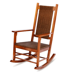 Rocker, Wicker Natural Porch Rocker