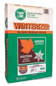TurfLine Winterizer Fertilizer, 5,000 sqft