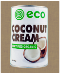Coconut Cream by Eco Foods. 400ml