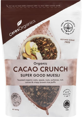 Organic Cacao Crunch - Super good muesli