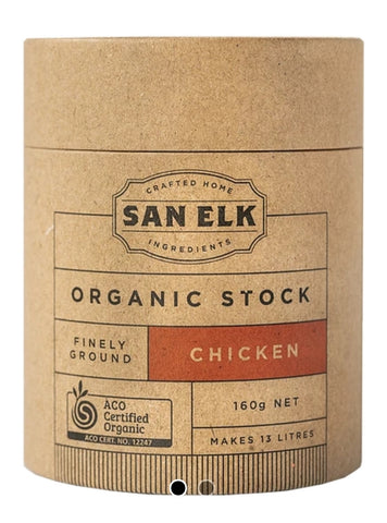 San Elk - organic chicken stock