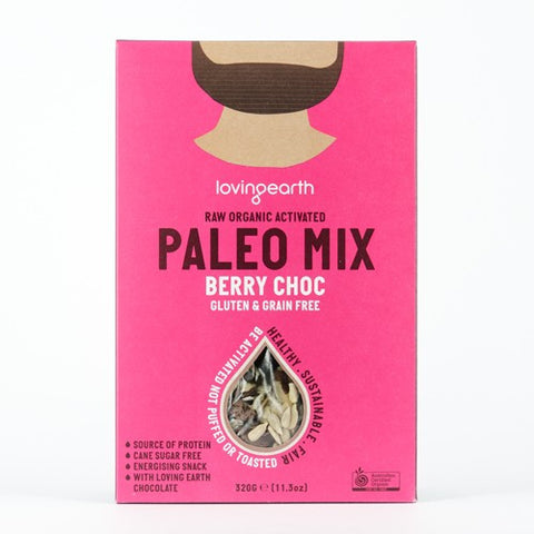 Paleo Berry Choc Mix (Grain free Cereal) by Loving Earth